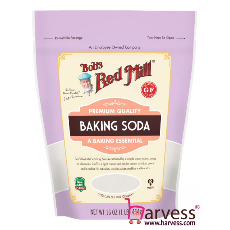 BOB'S RED MILL Gluten Free Pure Baking Soda (454g) (Exp Date 24/02/2021)