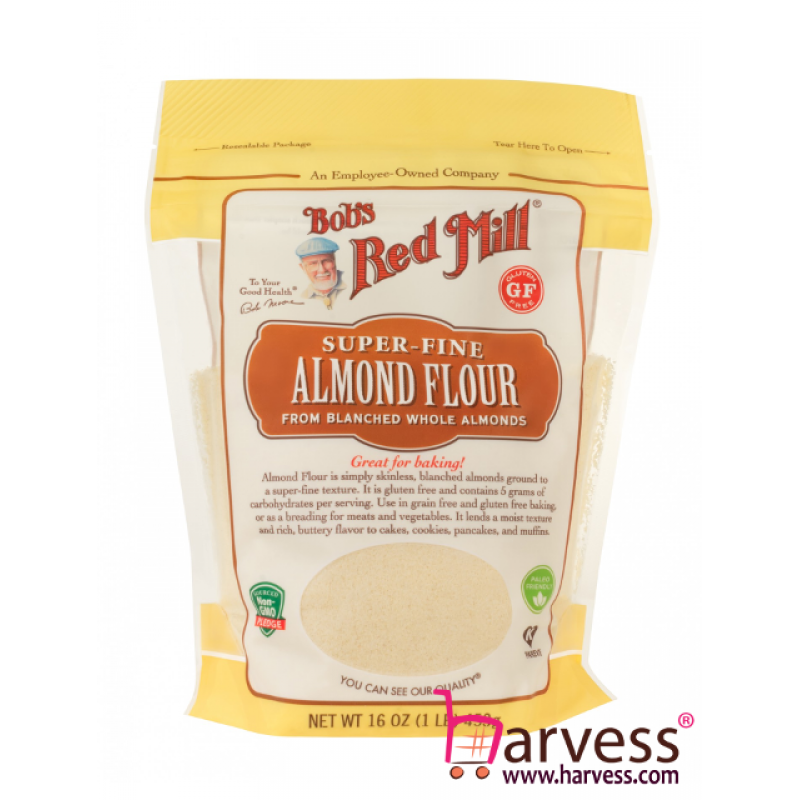 BOB'S RED MILL Gluten Free Almond Meal Flour (453g)