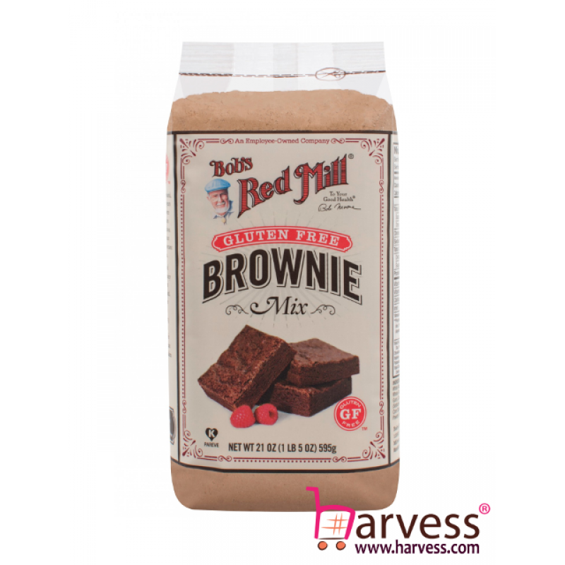 BOB'S RED MILL Gluten Free Brownie Mix (595g) EXP: 08/2021