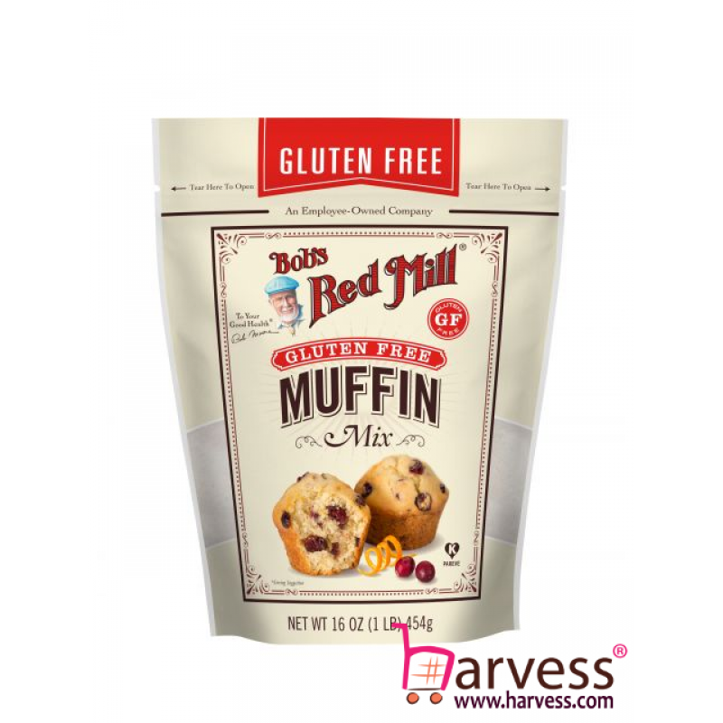 BOB'S RED MILL Gluten Free Muffin Mix (454g)