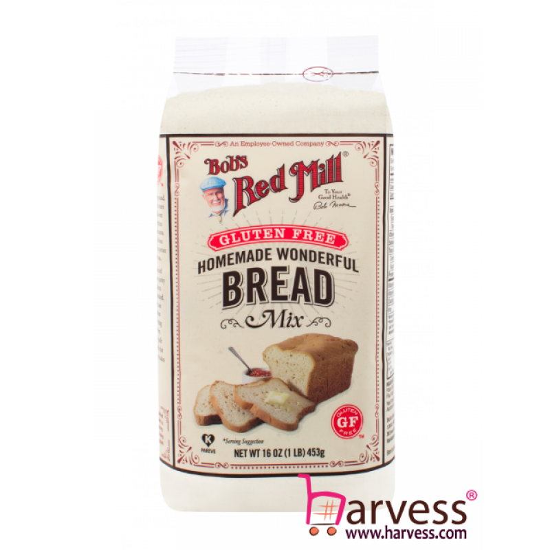 BOB'S RED MILL Gluten Free Homemade Wonderful Bread Mix (453g)