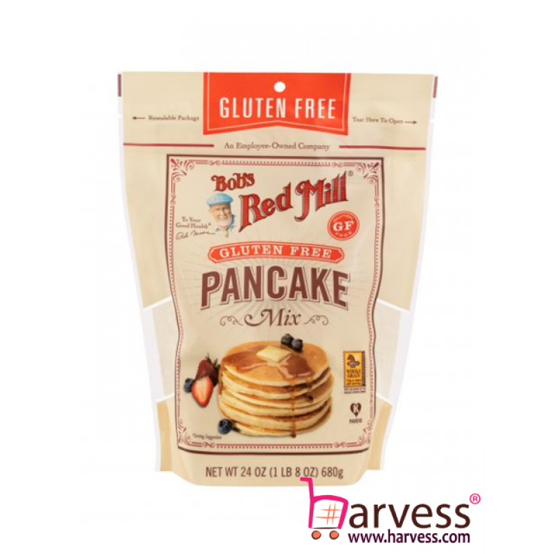 BOB'S RED MILL Gluten Free Pancake Mix (680g)