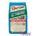 BOB'S RED MILL Organic Unbleached White All Purpose Flour (2270g)
