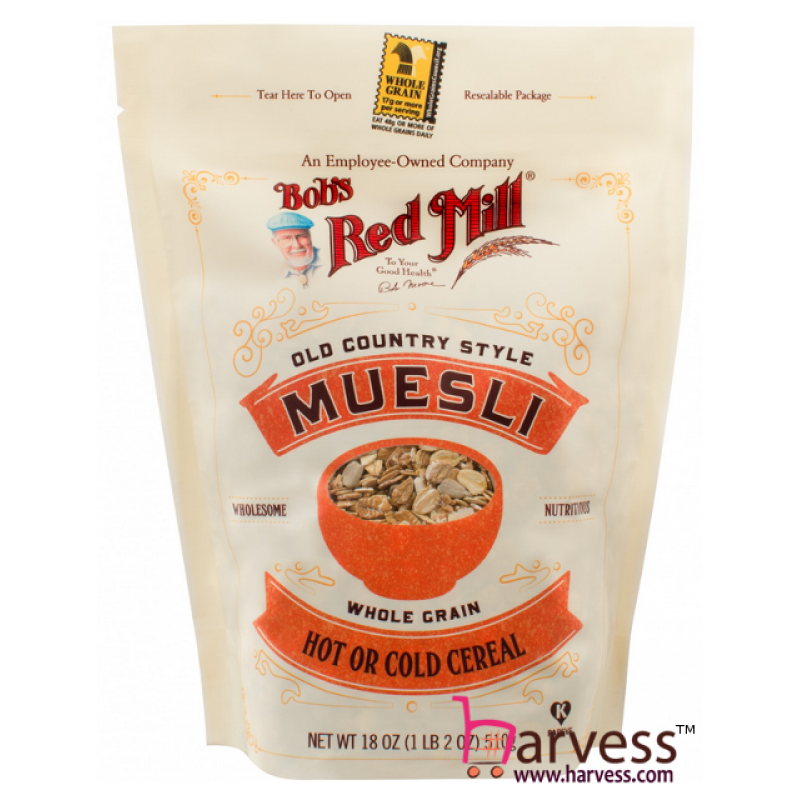 BOB'S RED MILL Old Country Style Muesli Cereal (510g) EXP: 04/2020