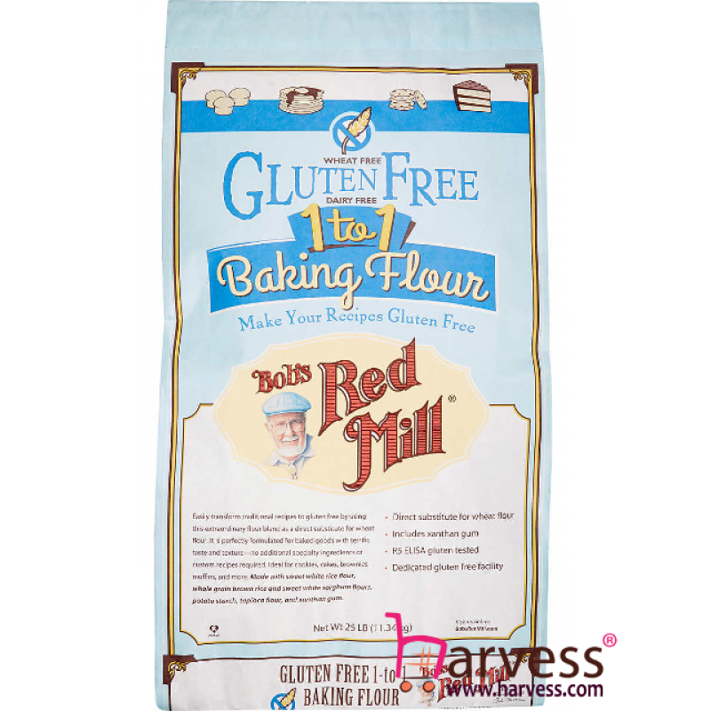 BOB'S RED MILL Gluten Free 1-To-1 Baking Flour Food Service Pack (11.34kg)