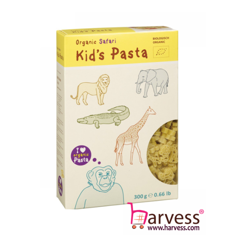 ALB-GOLD Organic Kid's Pasta Safari (300g)