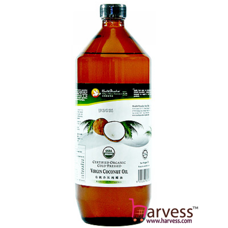 HEALTH PARADISE Organic Virgin Coconut Oil (Cold Pressed) (1000ml)