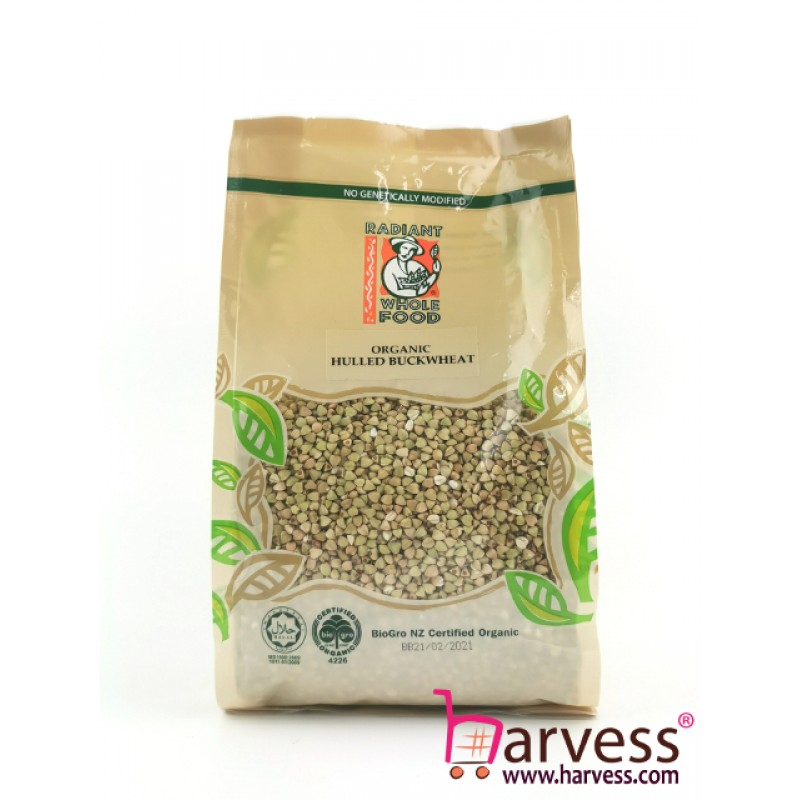 RADIANT Organic Hulled Buckwheat (500g)